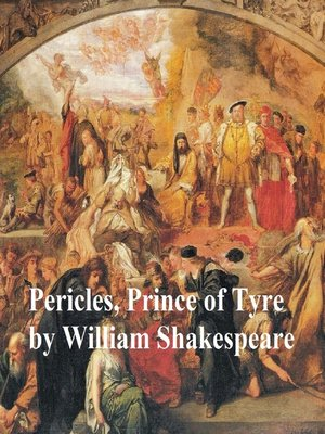 cover image of Pericles, Prince of Tyre, with line numbers