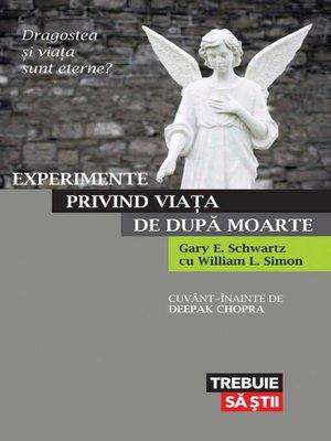 cover image of Experimente privind viața de după moarte