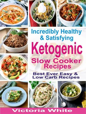 cover image of Incredibly Healthy and Satisfying Ketogenic Slow Cooker Recipes