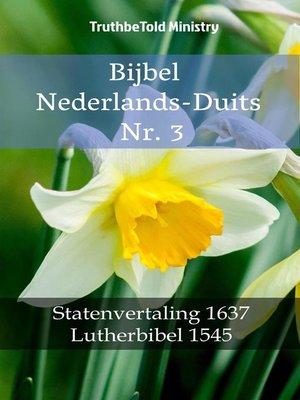 cover image of Bijbel Nederlands-Duits Nr. 3