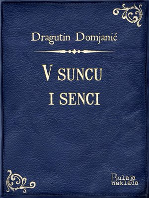 cover image of V suncu i senci