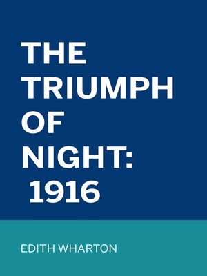 cover image of The Triumph of Night