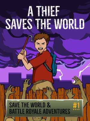 cover image of A Thief Saves the World