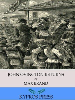 cover image of John Ovington Returns