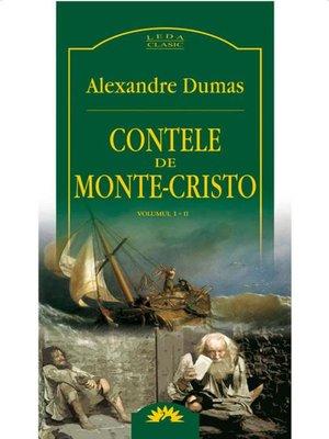 cover image of Contele de Monte-Cristo