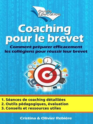 cover image of Coaching pour le brevet