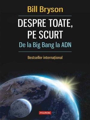 cover image of Despre toate, pe scurt
