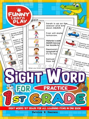 cover image of Sight Words 1st Grade