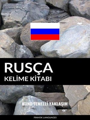 cover image of Rusça Kelime Kitabı