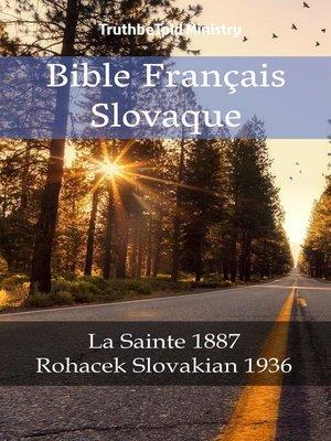 cover image of Bible Français Slovaque