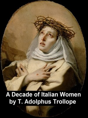cover image of A Decade of Italian Women