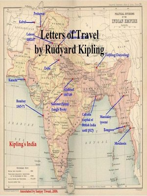 cover image of Letters of Travel