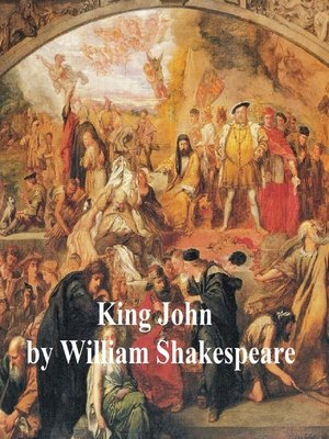 cover image of King John, with line numbers