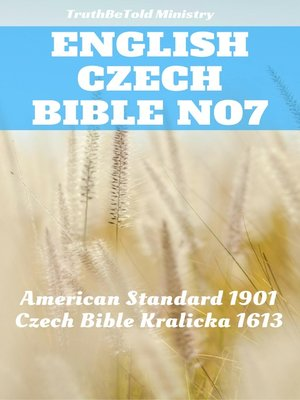 cover image of English Czech Bible No7