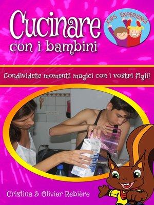 cover image of Cucinare con i bambini