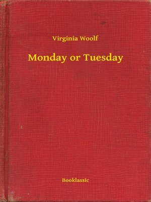 cover image of Monday or Tuesday