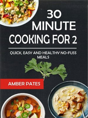 cover image of 30 Minute Cooking For 2