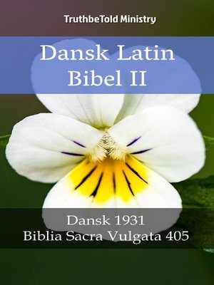 cover image of Dansk Latin Bibel II