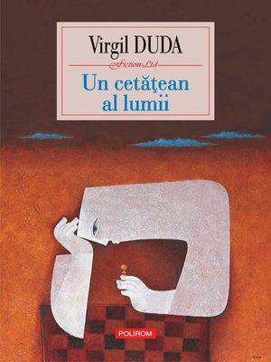 cover image of Un cetatean al lumii