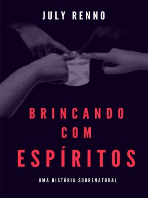 cover image of Brincando com espíritos