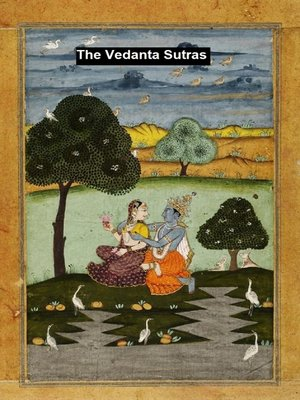 cover image of The Vedanta-Sutras