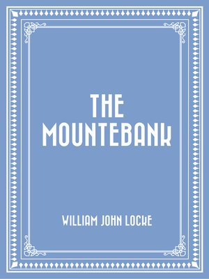 cover image of The Mountebank