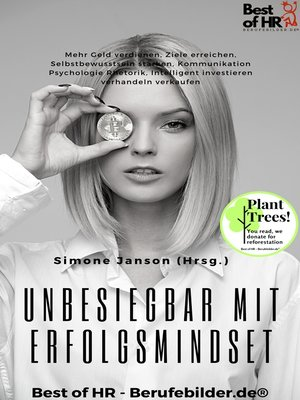 cover image of Unbesiegbar mit Erfolgsmindset