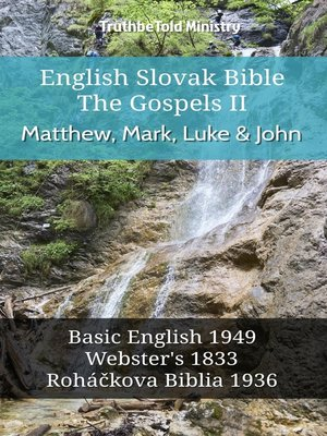 cover image of English Slovak Bible - The Gospels II - Matthew, Mark, Luke and John