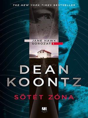 cover image of Sötét zóna