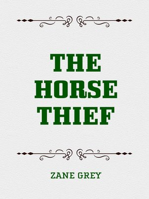cover image of The Horse Thief