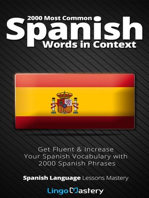 cover image of 2000 Most Common Spanish Words in Context