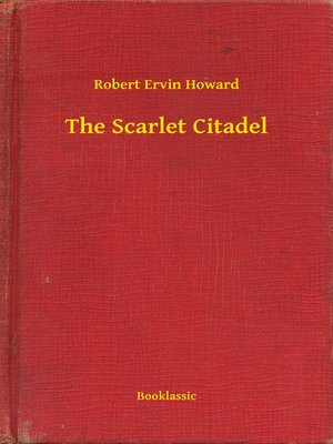 cover image of The Scarlet Citadel