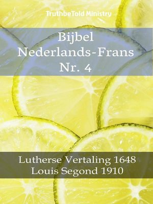 cover image of Bijbel Nederlands-Frans Nr. 4