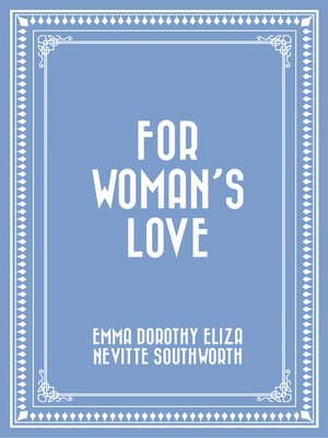 cover image of For Woman's Love