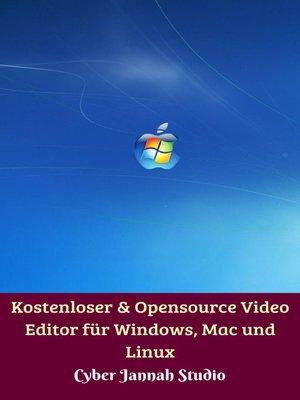 cover image of Kostenloser & Opensource Video Editor für Windows, Mac und Linux