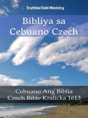 cover image of Bibliya sa Cebuano Czech