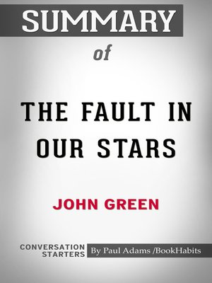 cover image of Summary of The Fault in Our Stars
