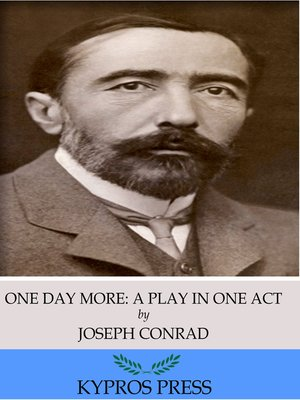 cover image of One Day More: A Play in One Act