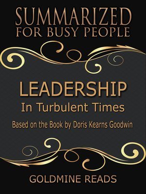 cover image of Leadership - Summarized for Busy People