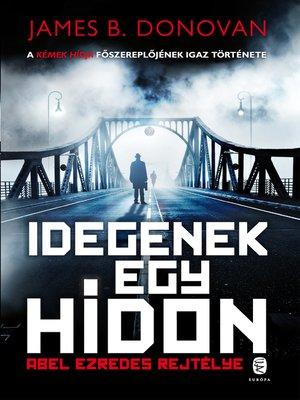 cover image of Idegenek egy hídon
