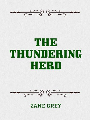 cover image of The Thundering Herd