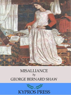 cover image of Misalliance