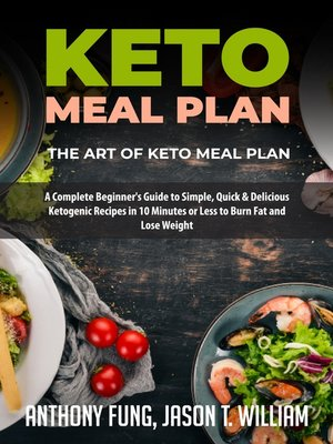 cover image of Keto Meal Plan--The Art of Keto Meal Plan