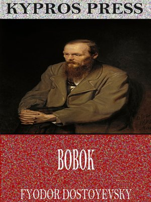 cover image of Bobok