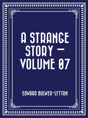 cover image of A Strange Story — Volume 07