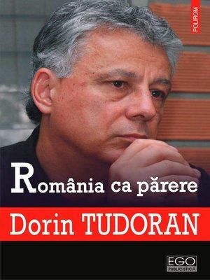 cover image of România ca părere