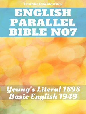 cover image of English Parallel Bible No7