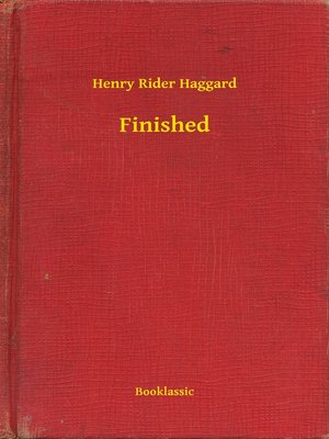 cover image of Finished