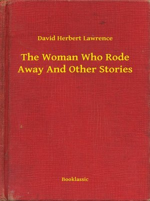 cover image of The Woman Who Rode Away And Other Stories