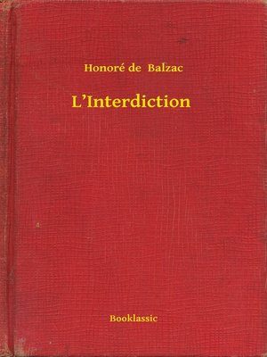 cover image of L'Interdiction